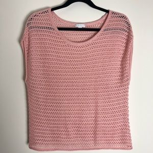 New York and company pink sweater.